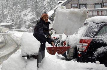 snijeg, Austrija