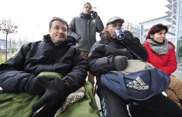 Mađarska, novinari, štrajk