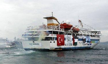 turska humanitarna flotila za Gazu 2010