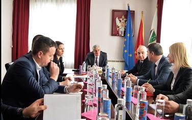 Drljević na sastanku sa rukovodstvom Rožaja