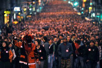protesti u Bilbau