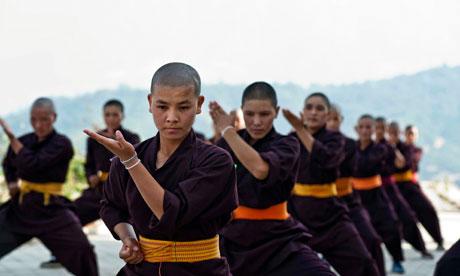 Kung-fu kaluđerice