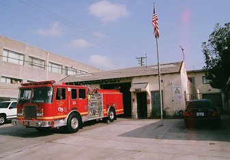 vatrogasno vozilo LA