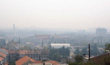 Podgorica, magla