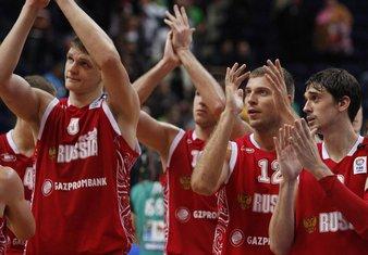 Košarkaši Rusije