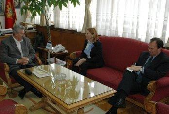 Oksana Sljusarenko i Nebojša Radojičić