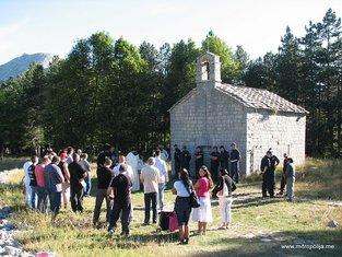 crkva Preobraženja gospodnjeg na Ivanovim Koritima