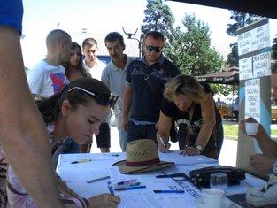 Amina Kalić, peticija