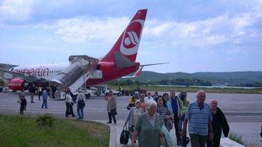 njemački turisti, Tivat