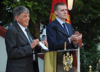 Princ Nikola, prijem Cetinje