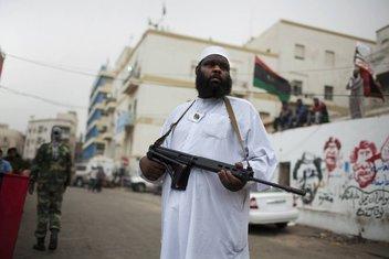 Libijski pobunjenik