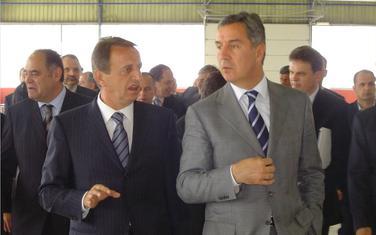 Godinama uspješno gomilao dugove državi: Brković i Milo Đukanović