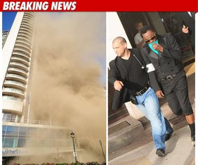 Hilton - požar