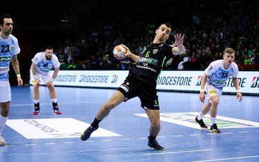 Miloš Vujović na utakmici sa Hanoverom