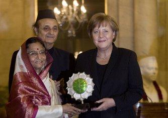 Angela Merkel u Indiji