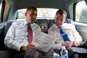 Obama i Medvedev