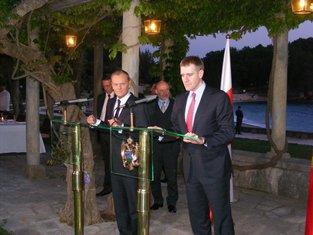 Donald Tusk i Igor Lukšić