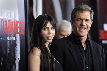 Mel Gibson i Oksana
