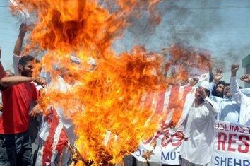 Pakistan, paljenje zastave, američka zastava