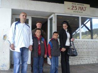 Enver Dacić porodica