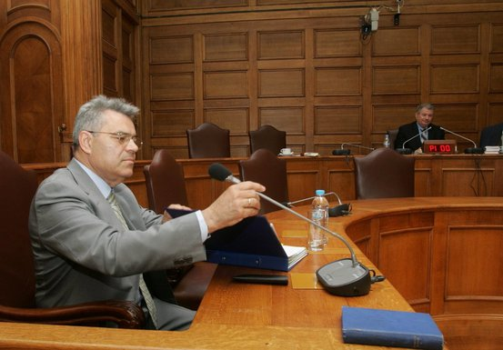 Tasos Mantelis grčki optuženi ministar