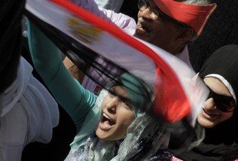 Zene na demonstracijama u Egiptu