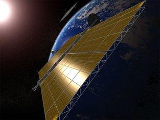 Solar satelit