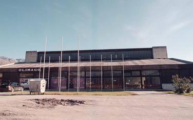 Sportska dvorana u Tivtu (arhiva)