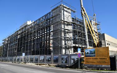 Gradilište budućeg Gradskog pozorišta