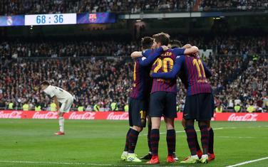 Fudbaleri Barselone slave gol u Madridu