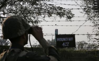 Indijski vojnik na granici sa Pakistanom