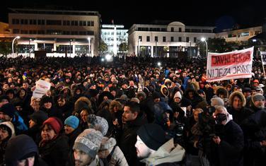 Sa posljednjeg protesta u Podgorici