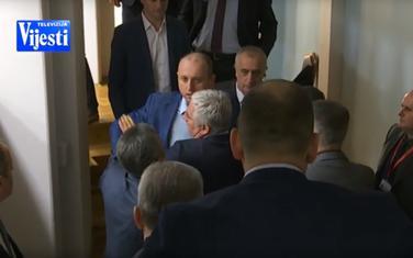 Danas u parlamentu