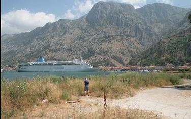Pogled na Kotor iz Škaljara