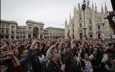 Sa protesta u Milanu