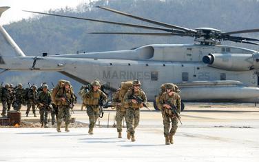 Vojnici SAD i Južne Koreje (Ilustracija)