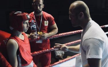 Bojana Gojković sa trenerom Ružićem i selektorom Draškovićem