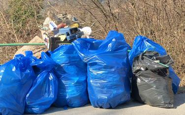 Prikupljena velika količina otpada