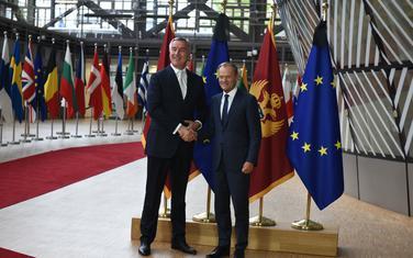 Đukanović i Tusk