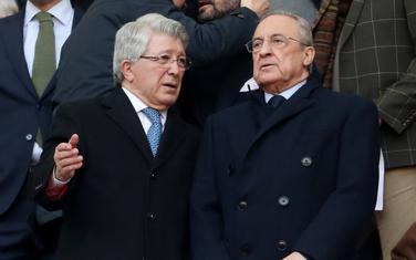 Florentino Peres sa predsjednikom Atletika Enrikeom Seresom