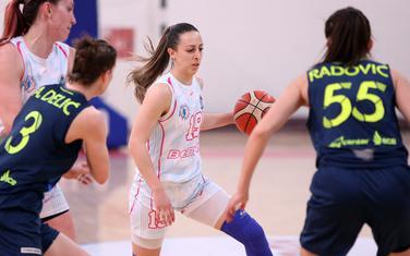 Tamara Kapor na meču protiv Celja (Foto: Filip Roganović)