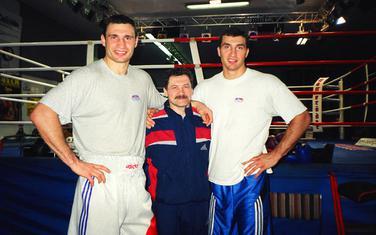 Zlotarjov sa braćom Kličko