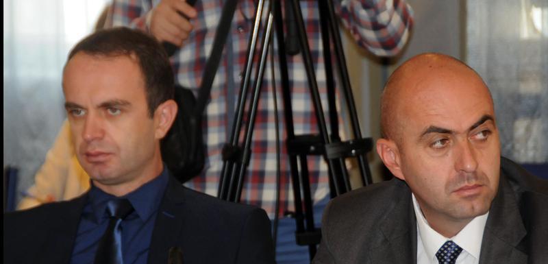 Imali podršku sunarodnika i dijaspore: Đeljošaj (lijevo)