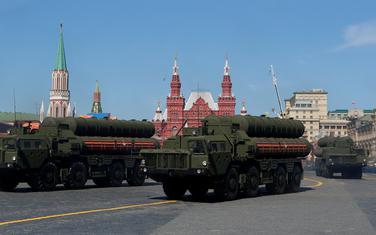 S-400 na vojnoj paradi u Moskvi
