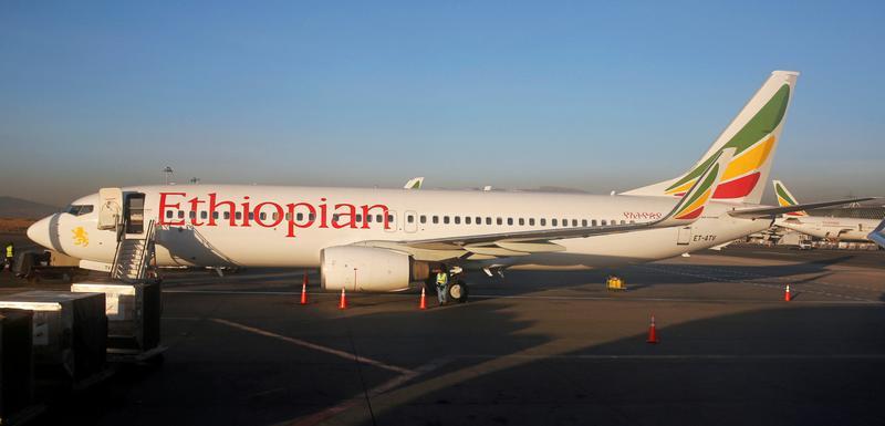 Avion Etiopijan erlajnsa