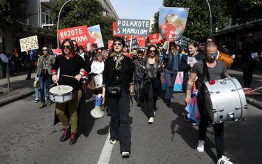 Osmomartovski marš u Podgorici