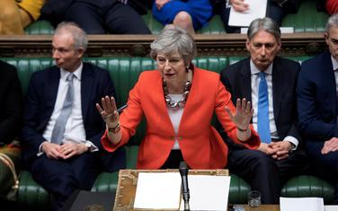 Tereza Mej u britanskom Parlamentu