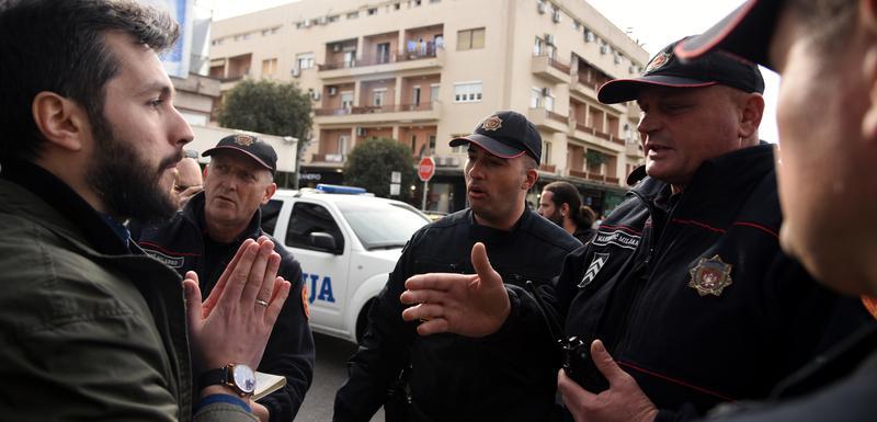 Hodžić sa policijom