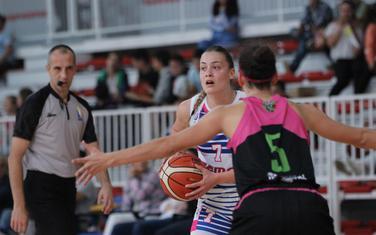 Nikolina Babić u duelu sa Trešnjevkom