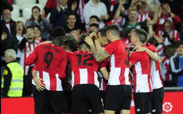Atletik Bilbao slavi gol